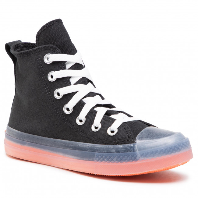 Sneakers CONVERSE - Ctas Cx Hi 167809C Black/Clear/Wild Mango