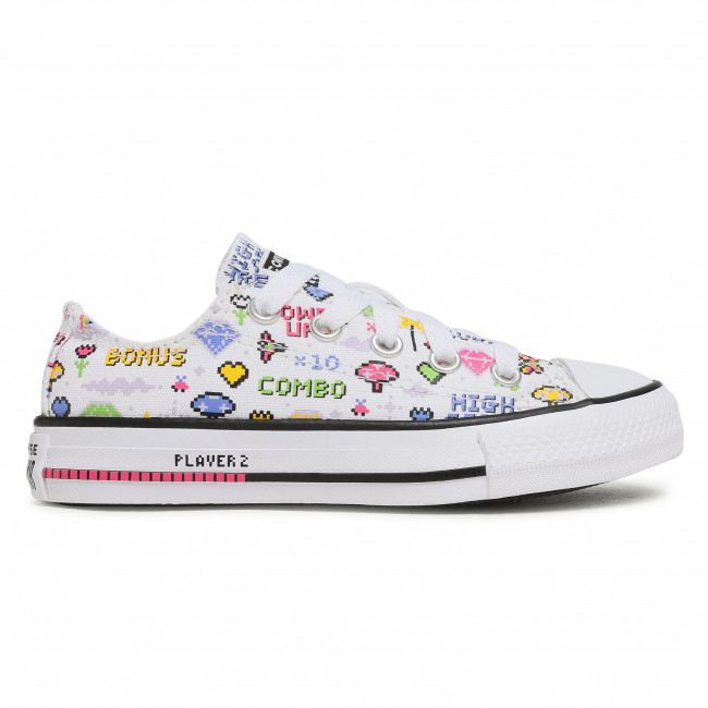 Sneakers CONVERSE - Ctas Ox 670171C White/Black/Bold P