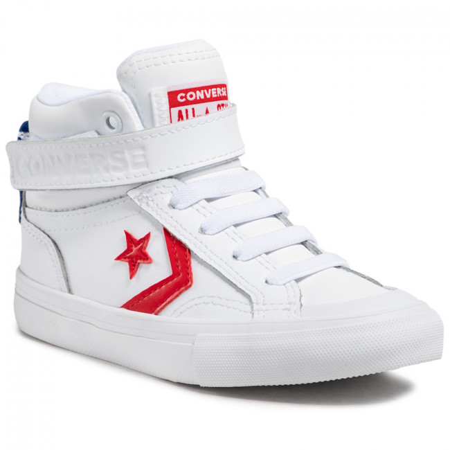 Trainers CONVERSE - Pro Blaze Strap Hi 670509C White/University Red/Blue