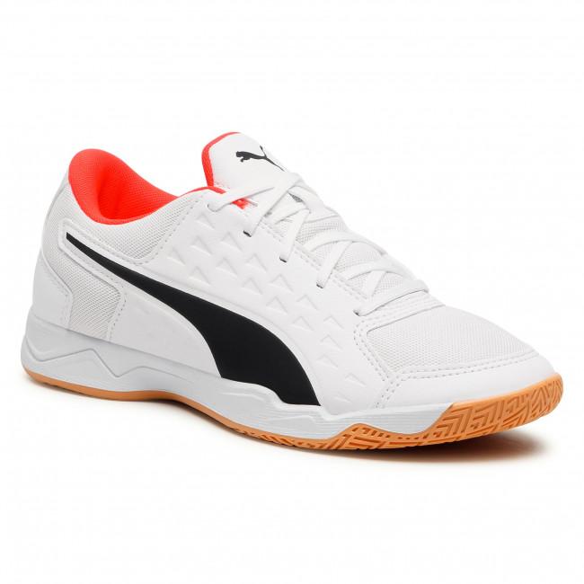 Footwear PUMA - Auriz Jr 106149 07 Puma White/Red Blast/Gum
