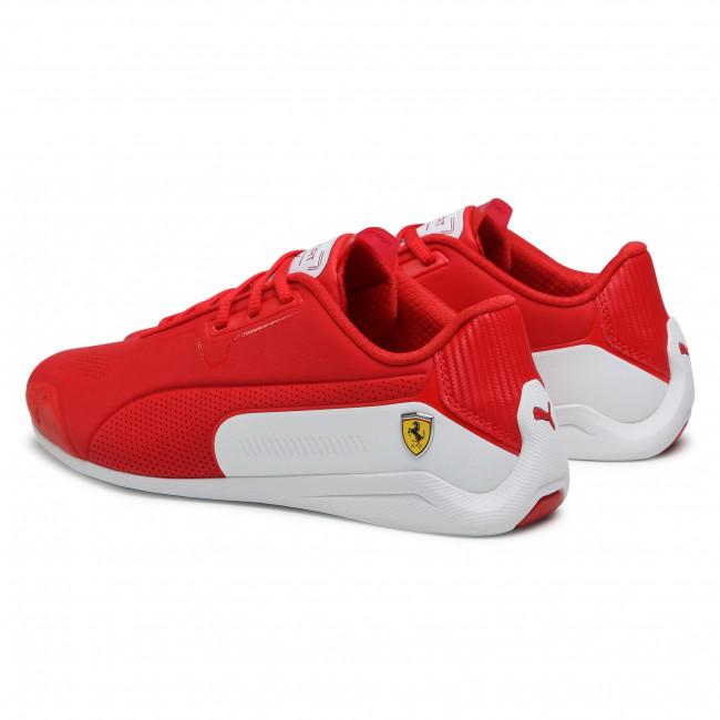 Trainers PUMA - Ferrari Drift Cat 8 306818 02 Rosso Corsa/Puma White