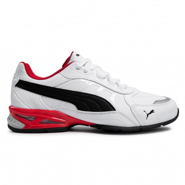 Trainers PUMA - Respin Sl 368846 04 White/Black/Silver/Red
