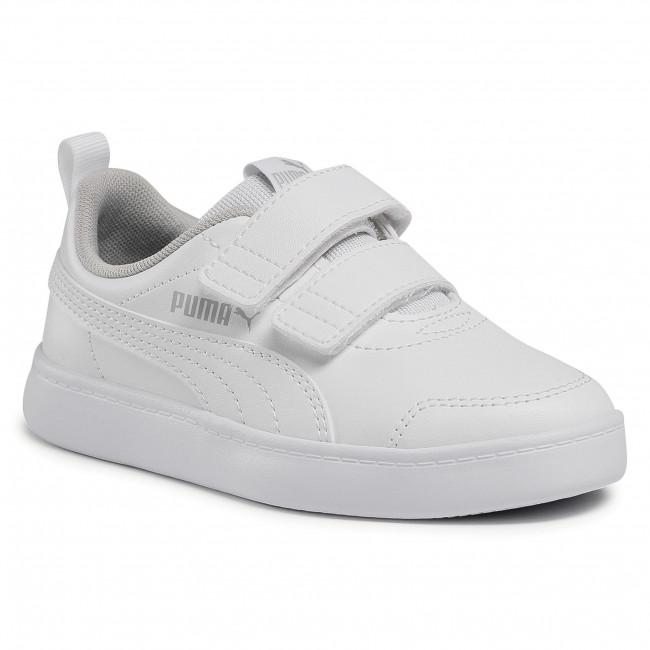 Trainers PUMA - Courtflex v2 V Ps 371543 04 Puma White/Gray Violet ...