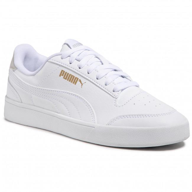 Trainers PUMA - Shuffle Jr 375688 01 White/White/Gray/Gold