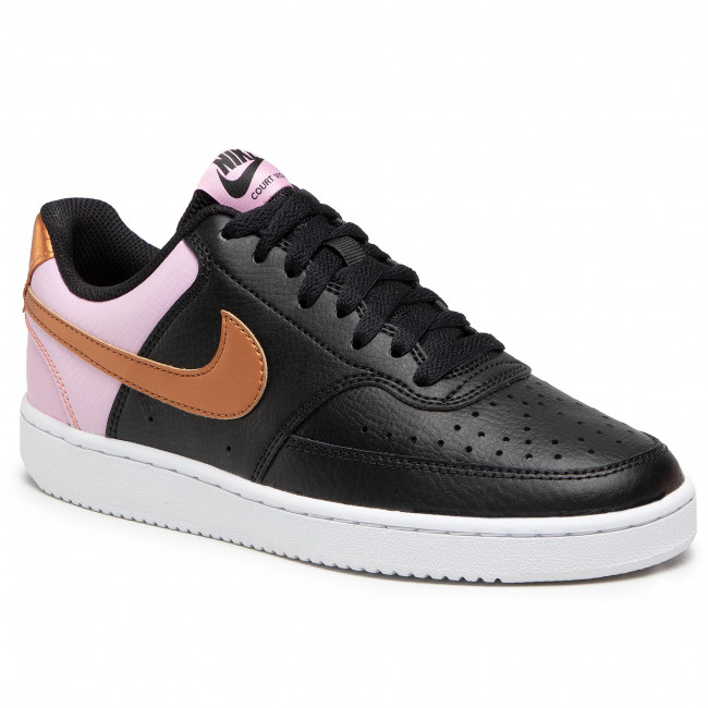 Footwear NIKE - Court Vision Low CD5434 004 Black/Metallic Copper/White