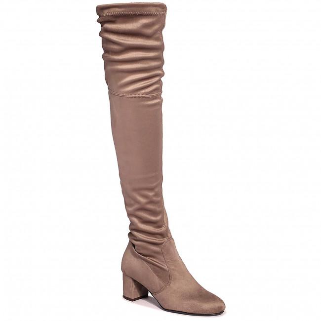 Over-Knee Boots R.POLAŃSKI - 0802 Cappucino