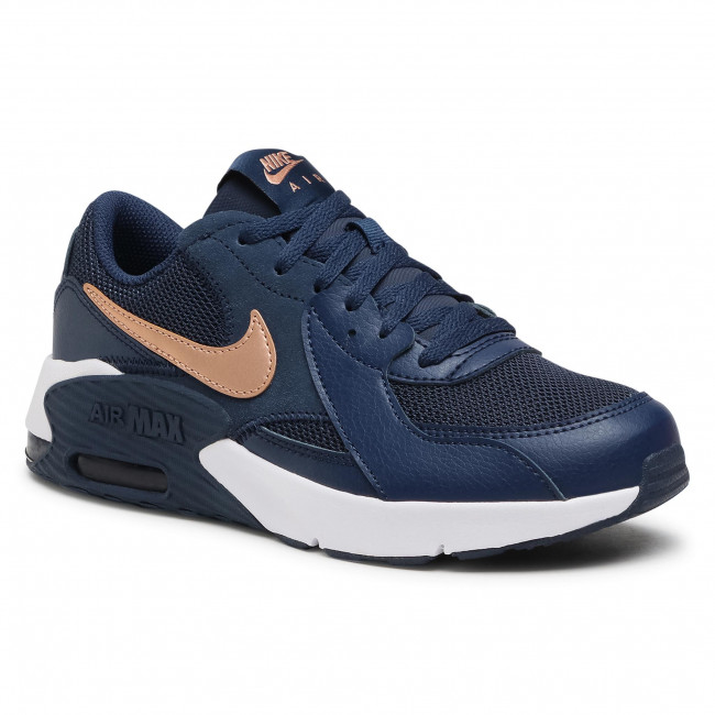 Footwear NIKE - Air Max Excee Gs CD6894 400 Midnight Navy/Mtlc Red Bronze
