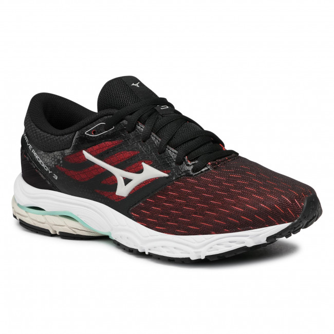 Footwear MIZUNO - Wave Prodigy 3 J1GD201038 Black Dark Red