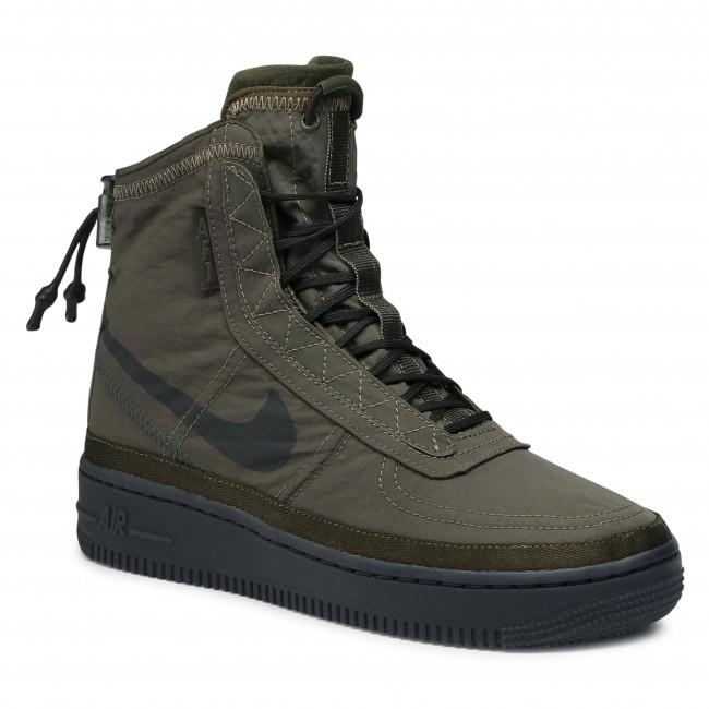 Footwear NIKE - W Af1 Shell Cargo Khaki/Off Noir/Seaweed