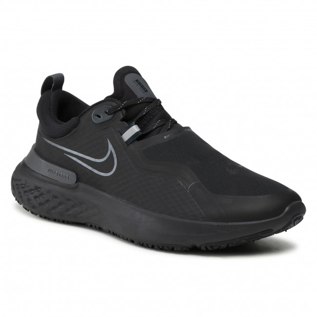 Footwear NIKE -  React Miler Shield CQ7888 001 Black/Black/Anthracite