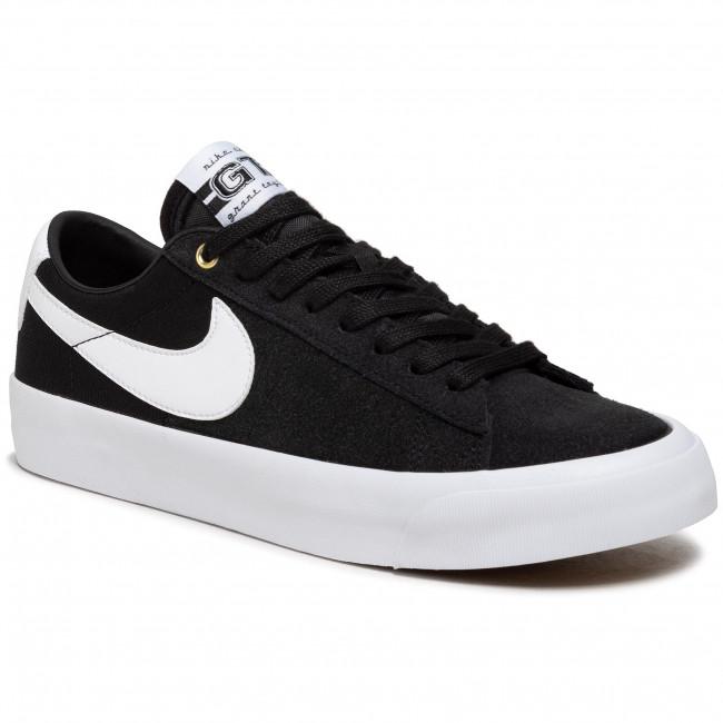 Footwear NIKE - Sb Zoom Blazer Low Pro Gt DC7695 002 Black/White/Black