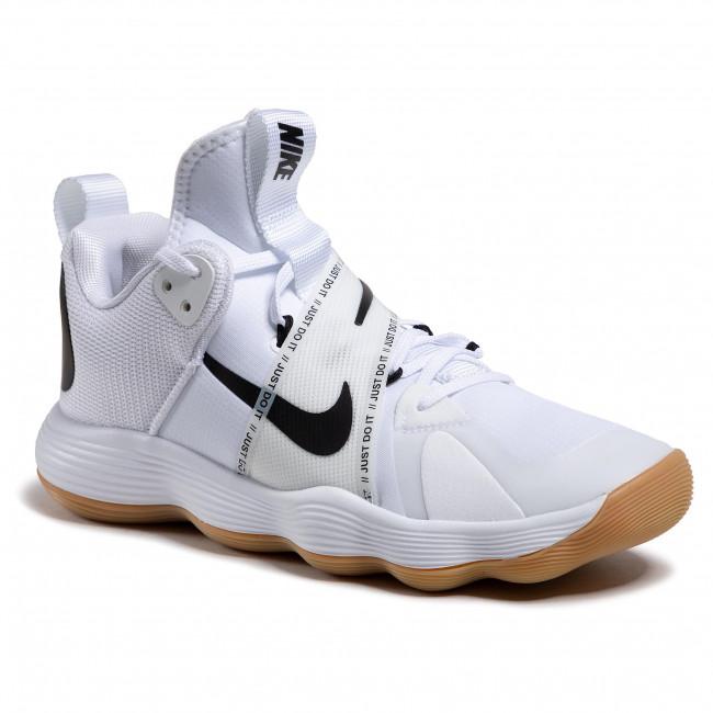 Footwear NIKE - React Hyperset CI2955 100 White/Black Gum/Light Brown