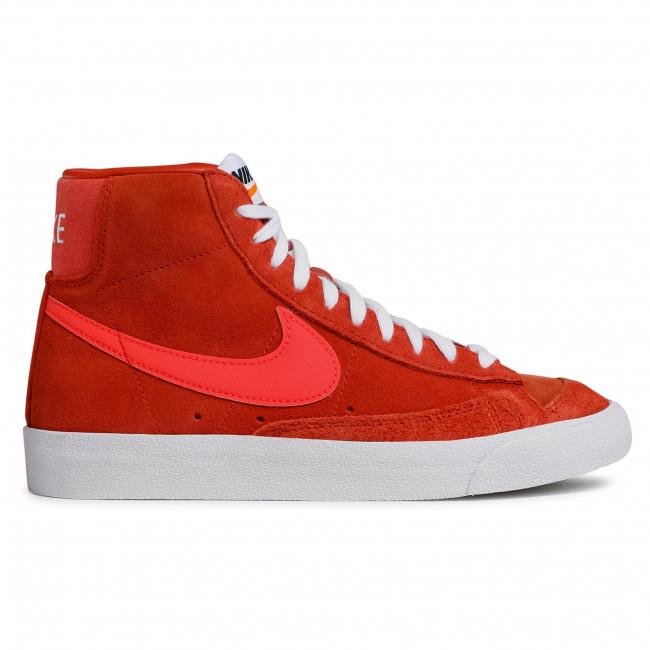Footwear NIKE - Blazer Mid '77 Vntg Suede Mix Mantra Orange/Bright Crimson
