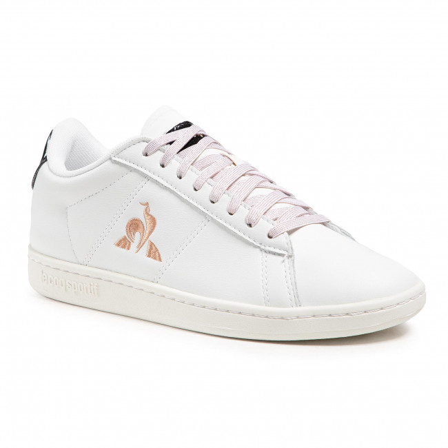 Trainers LE COQ SPORTIF - Courtset W Patent 2110126  Optical White/Rose Gold