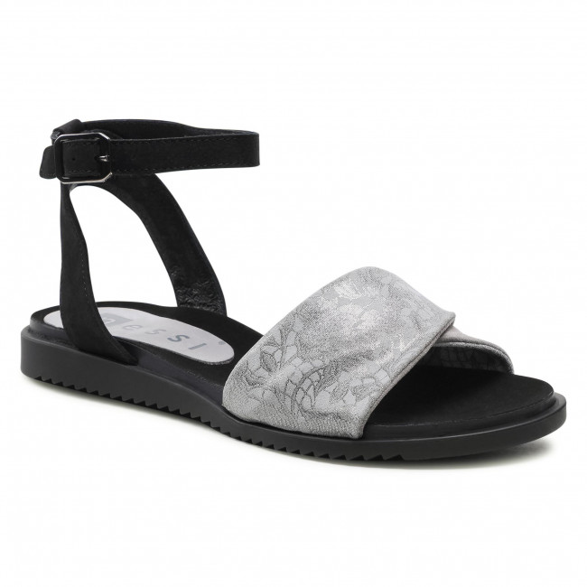 Sandals NESSI - 17180 Szary 4/3