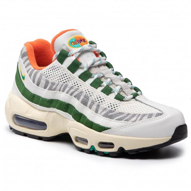 Footwear NIKE - Air Max 95 Era CZ9723 100 Sail/New Green/Forest Green