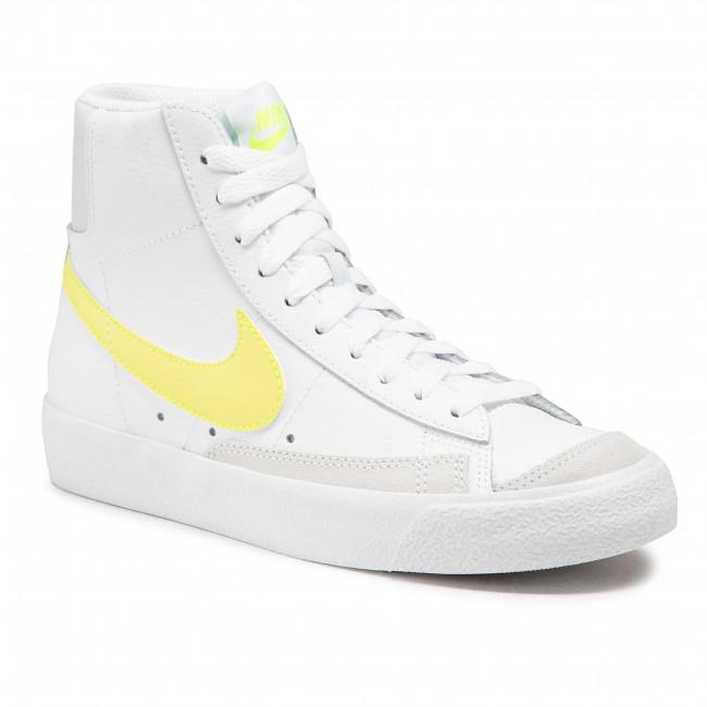 Footwear NIKE - Blazer Mid \'77 CZ0362 100 White/Lemon Venom