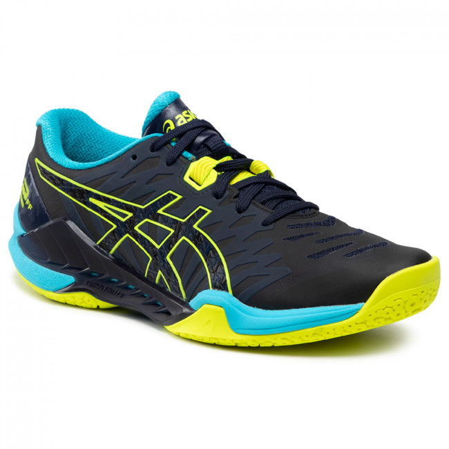 Footwear ASICS - Blast Ff 2 1071A044 Peacoat/Safety Yellow 400 ...
