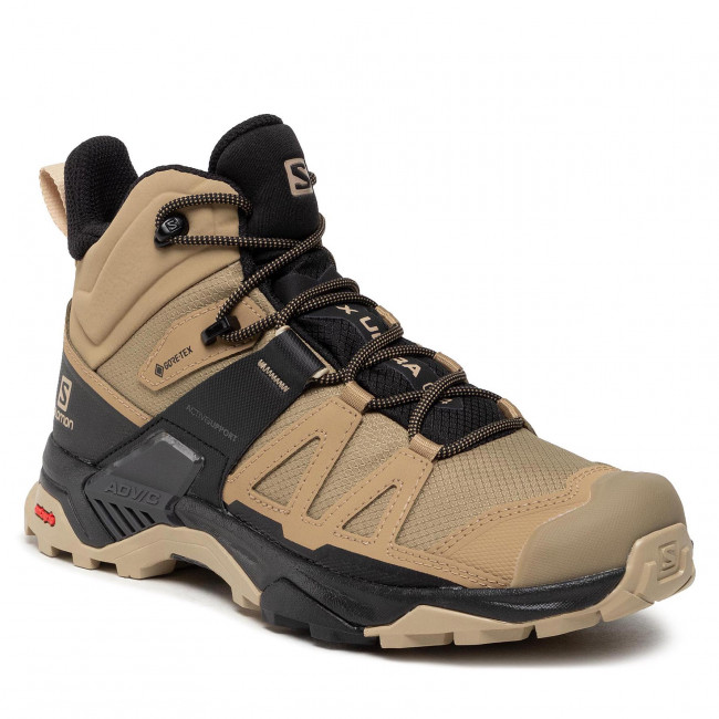 Trekker Boots SALOMON - X Ultra 4 Mid Gtx GORE-TEX 412941 27 V0 Kelp/Black/Safari