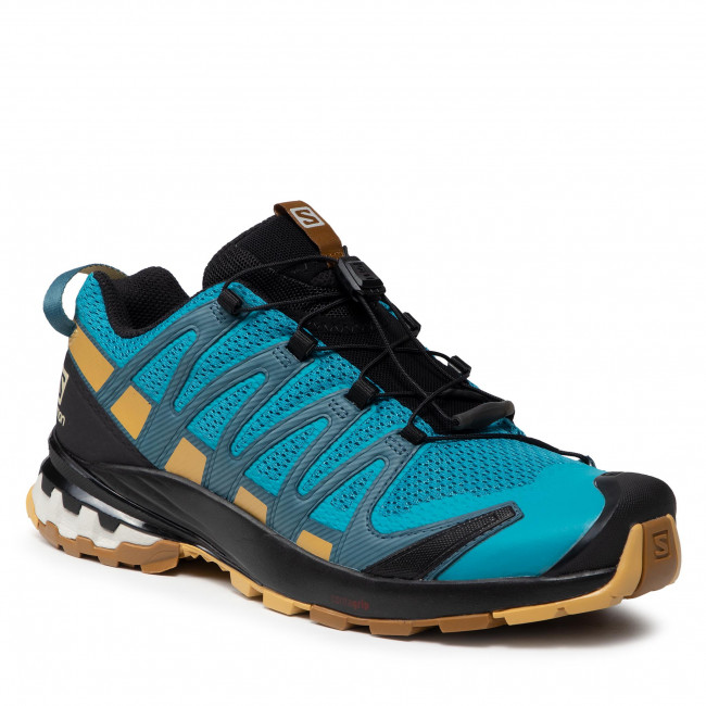Footwear SALOMON - Xa Pro 3D V8 414399 27 V0 Barrier Reef/Fall Leaf/Bronze Brown