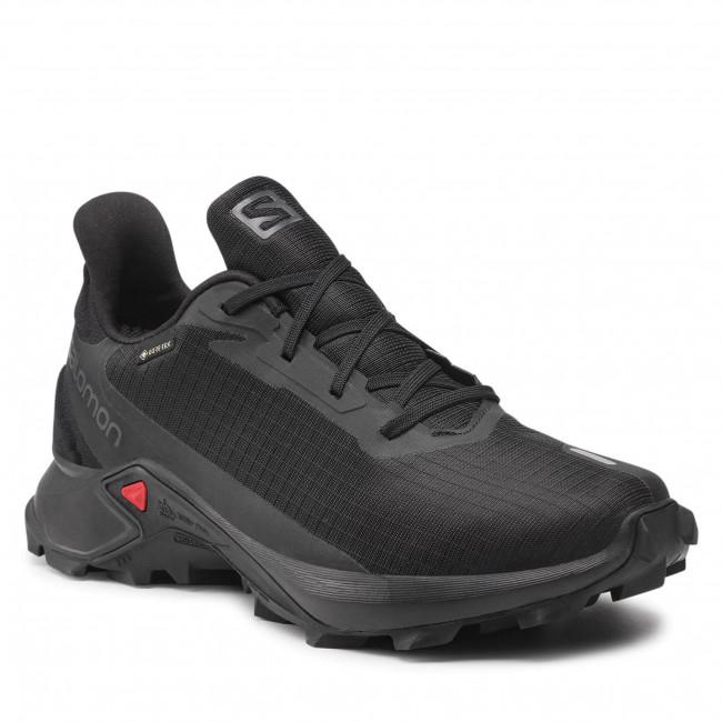 Footwear SALOMON - Alphacross 3 Gtx GORE-TEX 414466 26 V0 Black/Black/Black