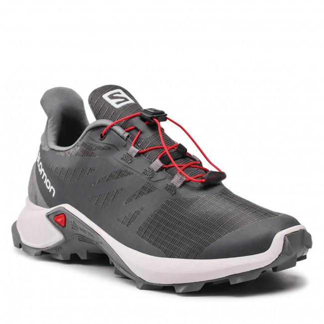 Footwear SALOMON - Supercross 3 Gtx GORE-TEX 414504 26 W0 Ebony/Lunar Rock/Quiet Shade