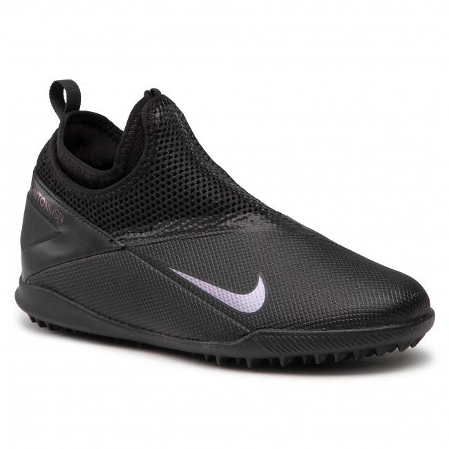 Footwear NIKE - Jr Phantom Vsn 2 Academy Df Tf CD4078 010 Black/Black