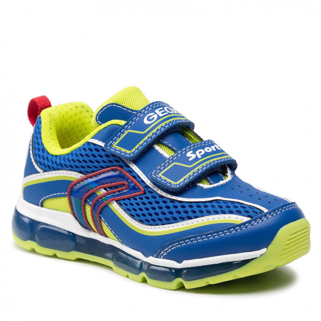 Trainers GEOX - J Android B. C J0244C 014BU C4344 S Royal/Lime