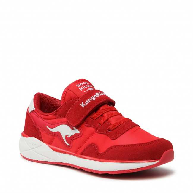 Trainers KANGAROOS - Invader Rk 19031 000 6169 Red Earth/White