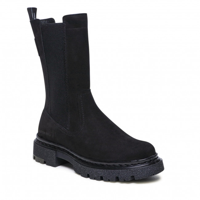 Knee High Boots G-STAR RAW - Kafey High Chs Lea W 2141 021807 Blk