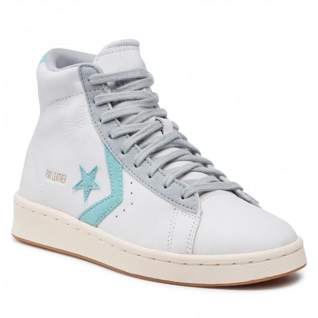 Trainers CONVERSE - Pro Leather Hi 171607C  White/Soft Aloe/Ash Stone