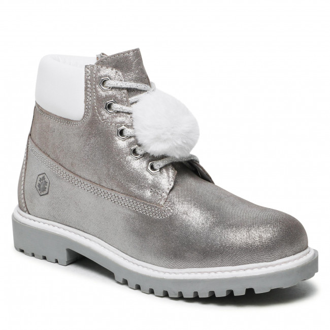 Hiking Boots LUMBERJACK - River SG00101-023-A11 D Silver CO002