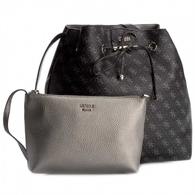 3a52ccbb510 Handbag GUESS - Bobbi Inside Out Drawstring HWSM64 22290 LPE - Bags ...
