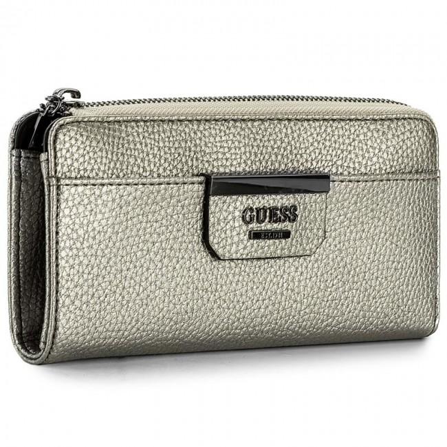 Renderlo pesante partecipazione Aumentare  Large Women's Wallet GUESS - Bobbi (GM) SWGM64 22520 PEW - Women's wallets  - Wallets - Leather goods - Accessories   efootwear.eu