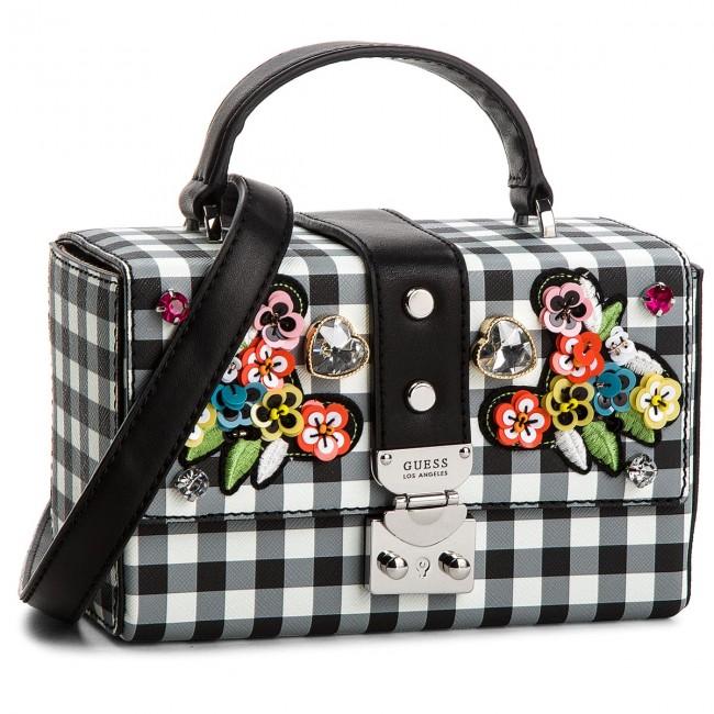 Handbag GUESS - HWGI66 93150 CHECKER