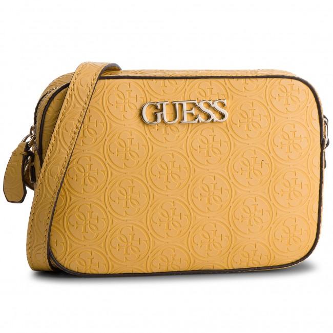 GUESS Kamryn Crossbody Top Zip Yellow