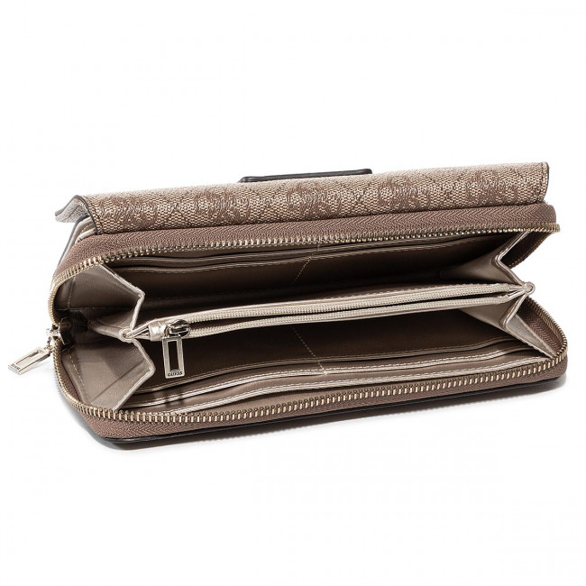 Large Women's Wallet GUESS Candace (SG) Slg SWSG76 68620 BRM