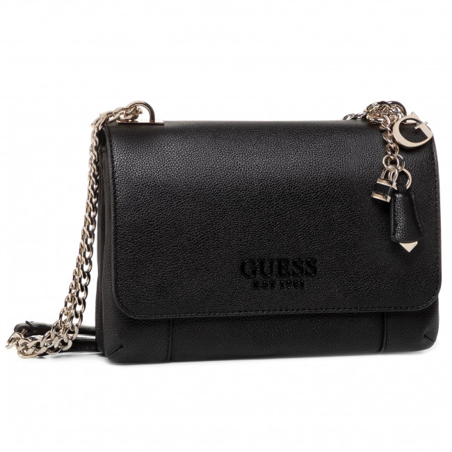 Handbag GUESS Holly (VG) HWVG76 69210 BLACK