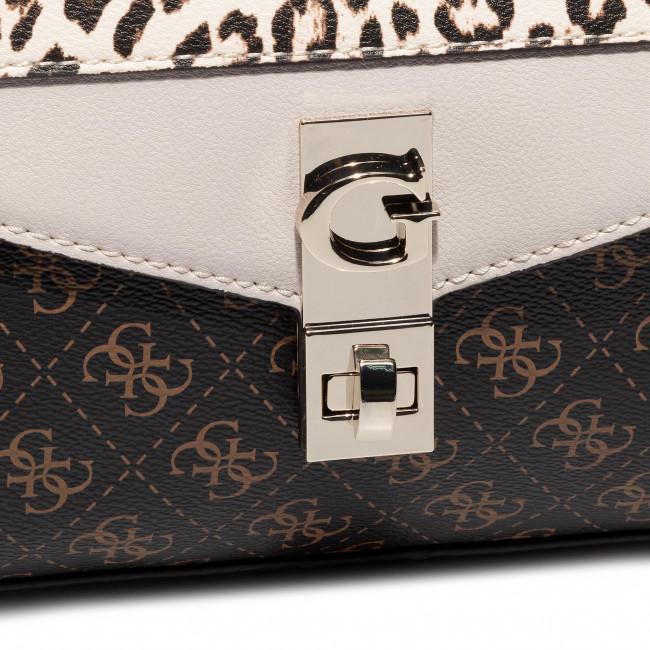 Handbag GUESS Lorena (SG) HWSG76 71200 BRO Evening
