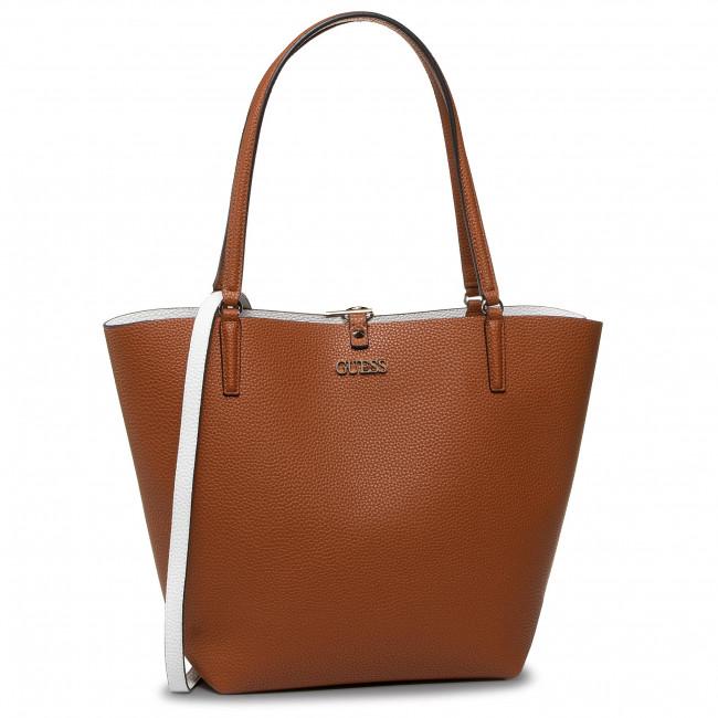 Handbag GUESS Alby (VG) HWVG74 55230 COGNACWHITE