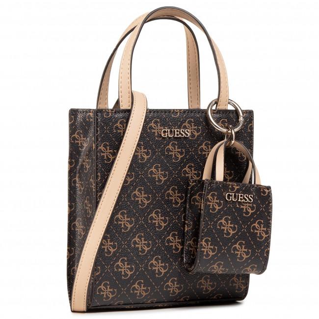 Handbag GUESS - Mini Tote Bag HWSG78 65770  BROWN