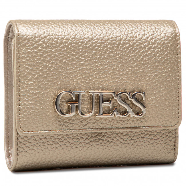 Large Women's Wallet GUESS - Uptown Chic (MG) Slg SWMG73 01430 GOL