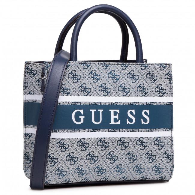 Handbag GUESS - Monique (Jy) Mini HWJY78 94760 BLU