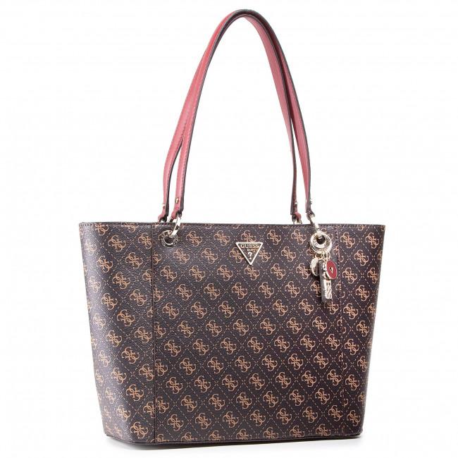 Handbag GUESS - Noelle (Sg) HWQL78 79230 BRO