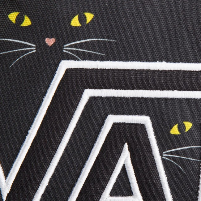 4e677587 Backpack VANS - Realm Flying V VN0A34GHP21 Black Cat