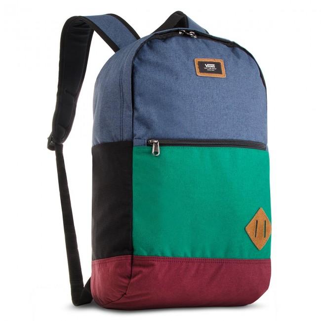 Backpack VANS - Van Doren III B VN0A2WNUWUP Evergreen/Dress Blues