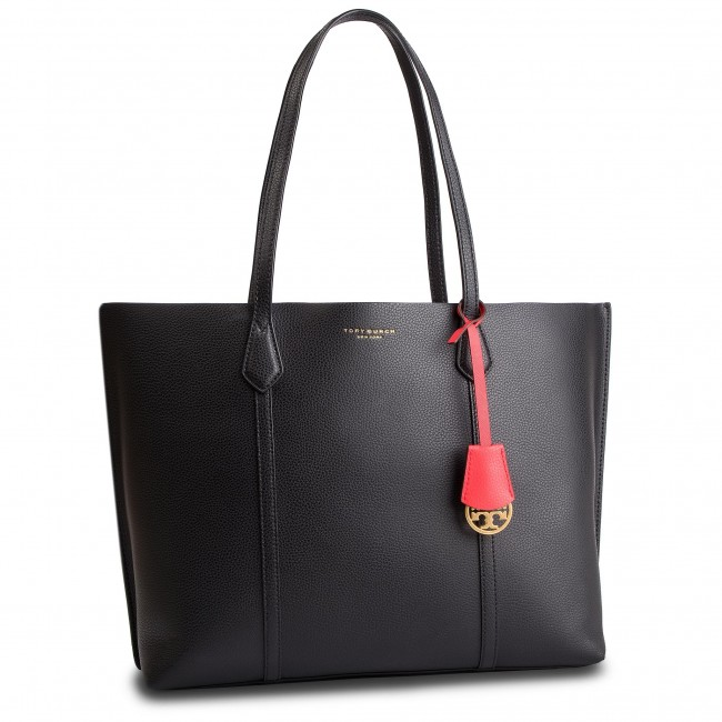 Handbag TORY BURCH - Perry Triple-Compartment Tote 53245 Black 001