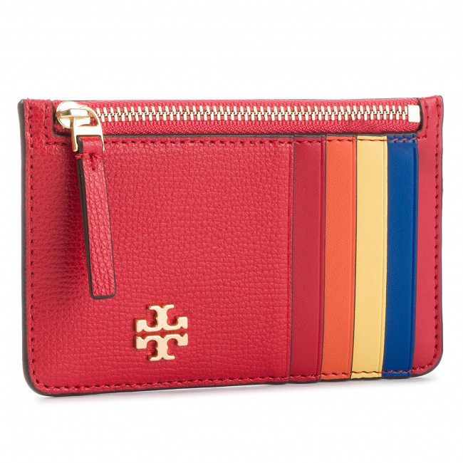 info for bcbe5 7a91e Credit Card Holder TORY BURCH - Kira Slim Card Case 54284 Brilliant Red 612