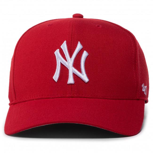 Zone New York Yankees Rouge 47 Brand Low Profile Cap