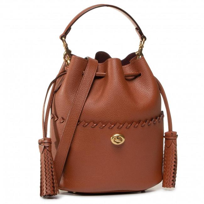 Handbag COACH - Whpstch Lora Bucket 651 B4L4A B4/1941 Saddle